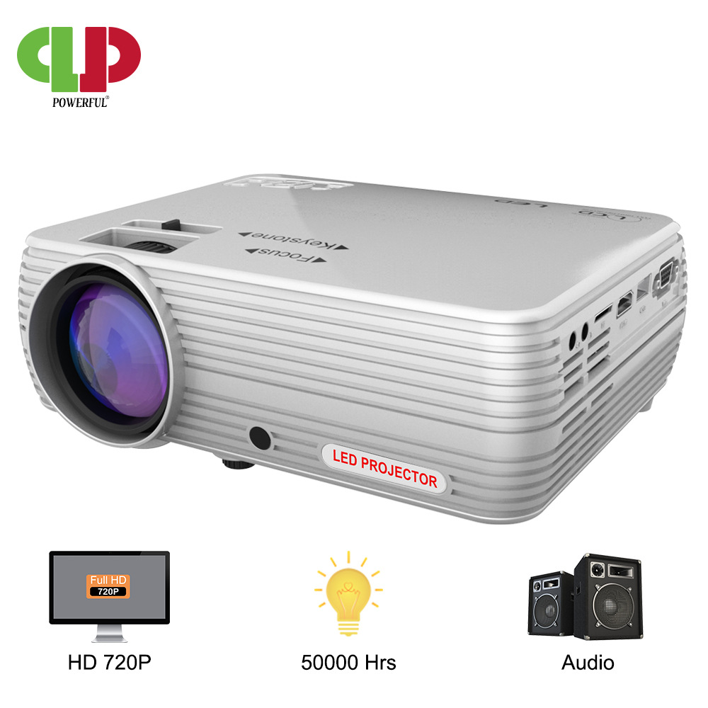 Puissant MINI projecteur X5 + 1280*720P Proyector 4K Full HD 2600 lumen WIFI Proyector Beamer Home Cinema en option Version Android