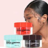 Unisex Hair Wax Cream Glay Long Lasting Edge Control Hair Styling Pomade Cream Broken Hair Finishing Anti Frizz Fixative Gel
