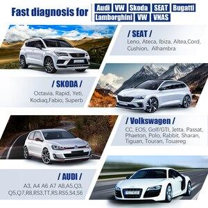 Image 2 - Autophix 7610 OBD2 Auto Scanner per Audi Skoda Sede ABS SRS Airbag Olio EPB DPF TPMS di Reset Strumento di Diagnostica Auto OBD2 Scanner ODB