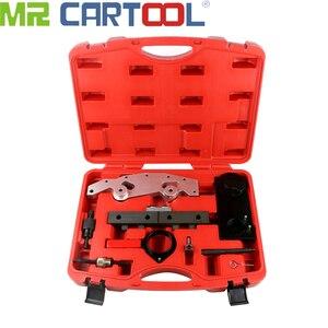 MR CARTOOL набор инструментов для синхронизации двигателя с шестью цилиндрами, одиночными и двойными Vanos, Настройка блокировки распределительн...