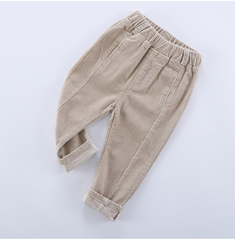 2020 Hot Sell Children Corduroy Trousers Boys Girls Long Cotton Trousers Spring Autumn Casual Pants Girls Kids Crawlers Clothing 5