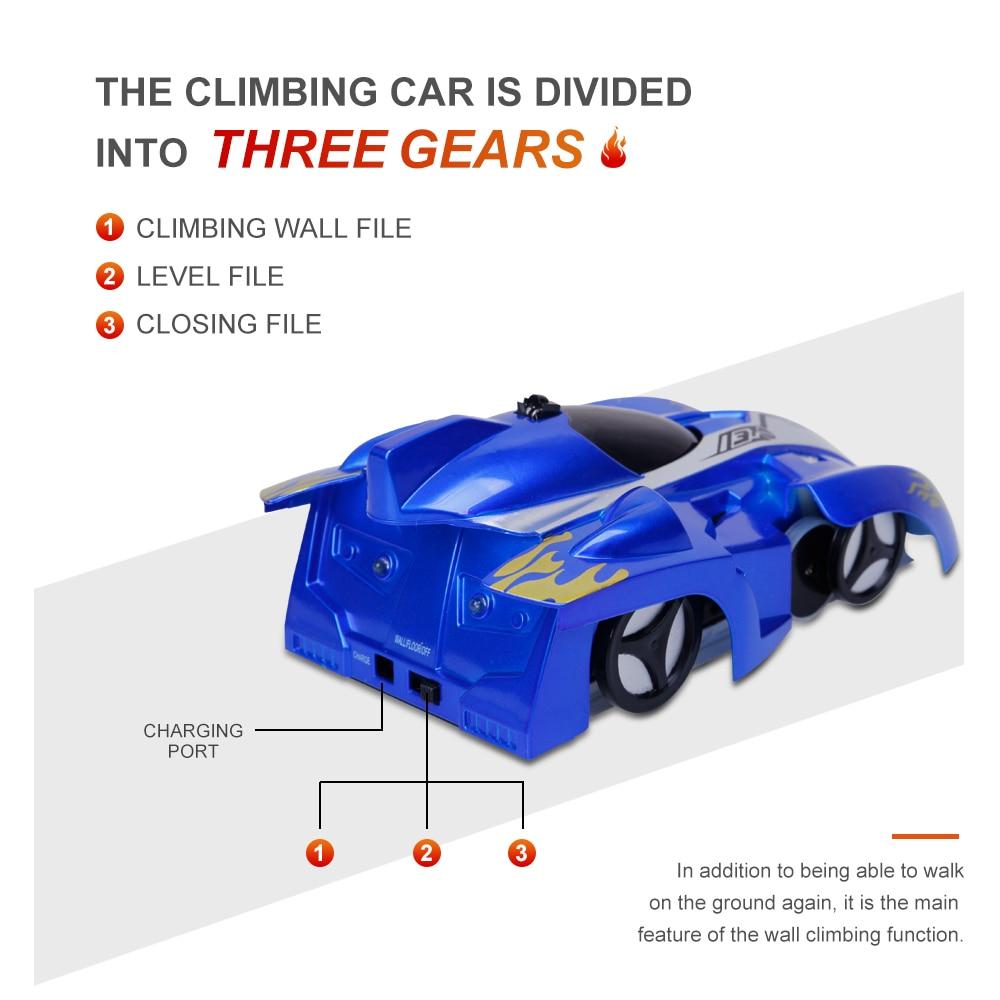 Gravity Defying Wall Climbing RC Car 8
