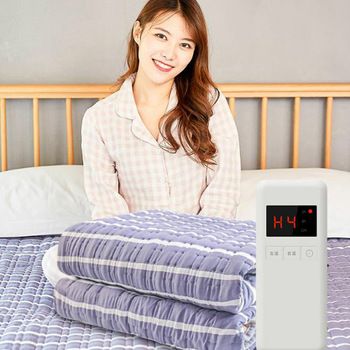 Electric blanket plumbing blanket double double control water circulation safety radiation household temperature adjustment sing