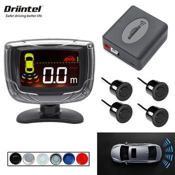 Zumbador LCD de 4 sensores, 22mm, alarma de sonido, sistema de alarma