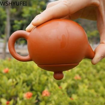 цена на Authentic Yixing tea pot purple clay xi shi teapot ore beauty kettle suit puer Chinese tea set etiquette supplies