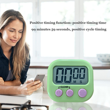 Timer Magnetic Stopwatch Kitchen Alarm-Clock Cooking-Table Countdown Digital Electronic