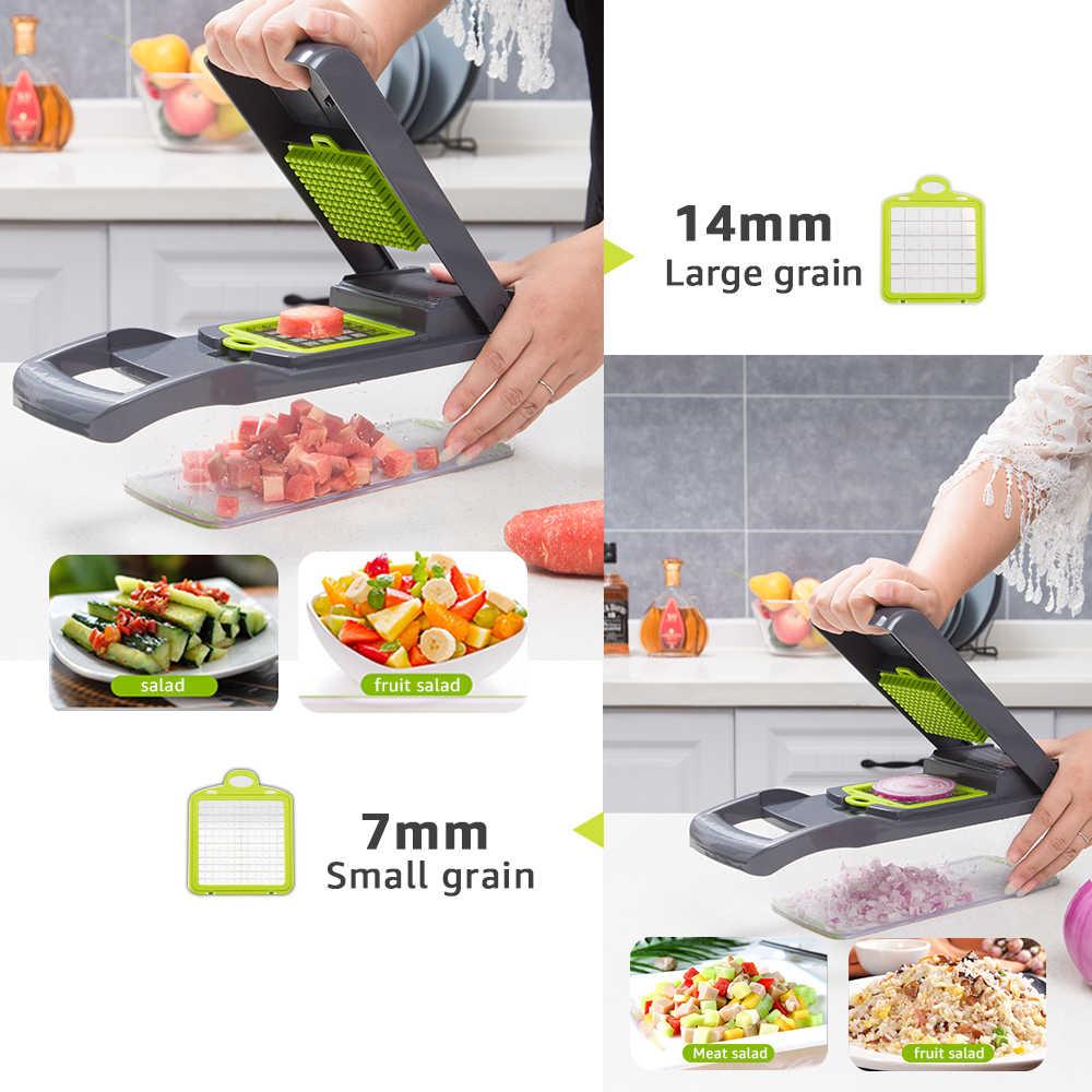 Gemüse cutter Küche zubehör Mandoline Slicer Obst Cutter Kartoffel Schäler Karotte Käse Reibe gemüse slicer
