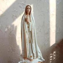 Католическая икона католическая Священная вещь Фатима наша Леди Смола украшения 55 см