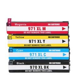 970 XL 970XL 971 971XL Ink Cartridges For HP970 HP970XL HP971 HP971XL Officejet Pro X451dn  X451dw X476dn X476dw Printer