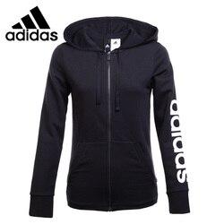 Original Neue Ankunft Adidas ESS LIN FZ HD frauen Jacke Mit Kapuze Sportswear