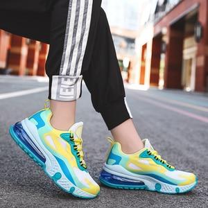 Image 4 - Women Casual Sneakers Plus Size 36 46 Woman Sport Shoes Basket Femme Air Cushion Zapatillas Hombre Flats Shoes Ladies Top Brand