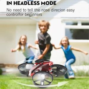 Image 5 - 미니 드론 Quadrocopter Dron RC 헬리콥터 Quadcopter 고도 홀드 헤드리스 모드 드론 2.4G 원격 제어 항공기 완구