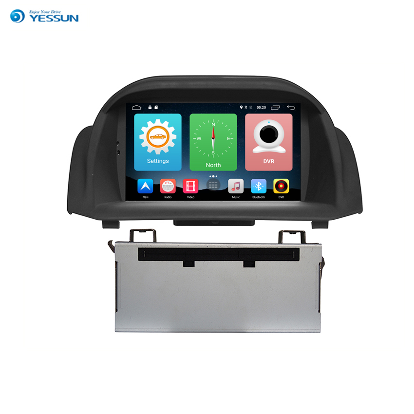 Yessun For Ford Fiesta 2013~2015 Android Car Navigation GPS HD <font><b>Touch</b></font> Screen Multimedia Stereo Player Audio Video Radio. image