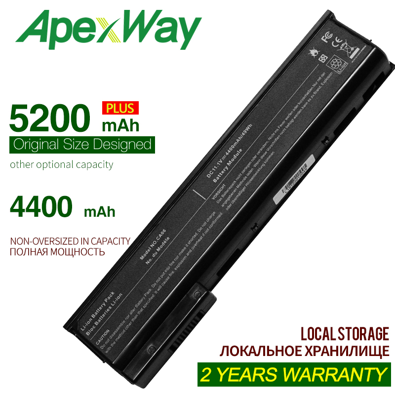 ApexWay 11.1V Laptop Battery For HP CA06 CA09 For ProBook 640 G0 G1 655 650 645 Series HSTNN-LB4Z 718756-001 HQ-TRE 71004