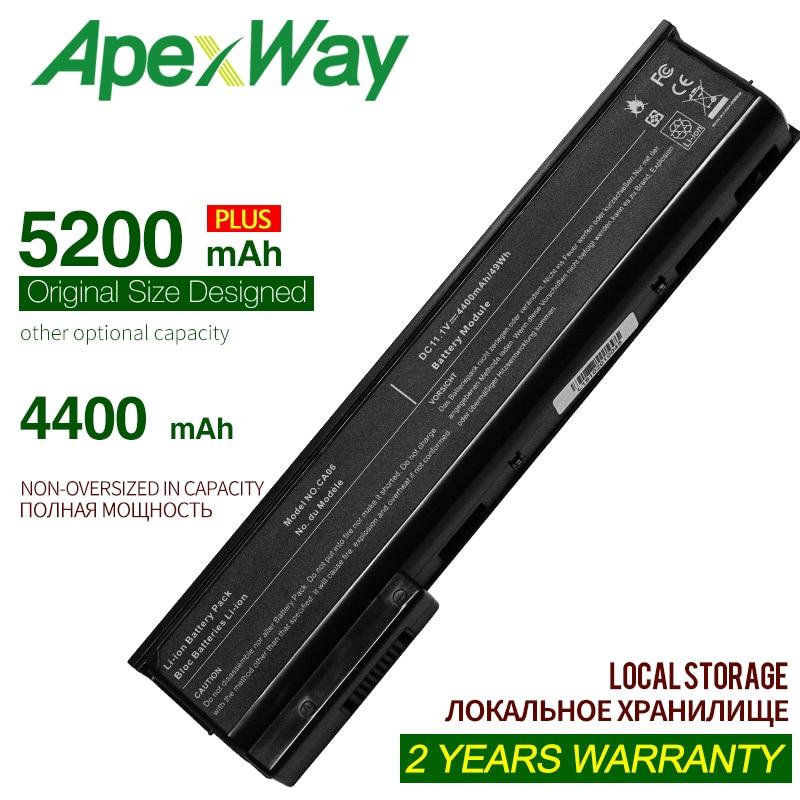 ApexWay 11.1V Laptop Battery For HP CA06 CA09 For ProBook 640 G0 G1 655 650 645 Series HSTNN-LB4Z 718756-001 HQ-TRE 71004