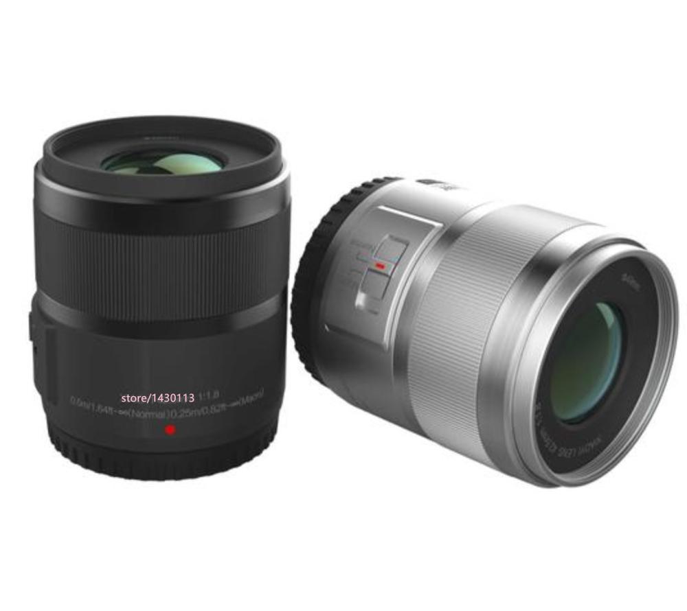 Новинка 42,5 мм 42,5 F1.8 объектив с фиксированным фокусным расстоянием для YI M1 для фотовспышки Olympus