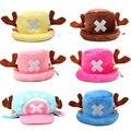 Забавные аниме шапки цельный Тони Чоппер 2 года спустя шапка японский мультфильм косплей плюшевая зимняя шапка женские подарки подарок на Х...