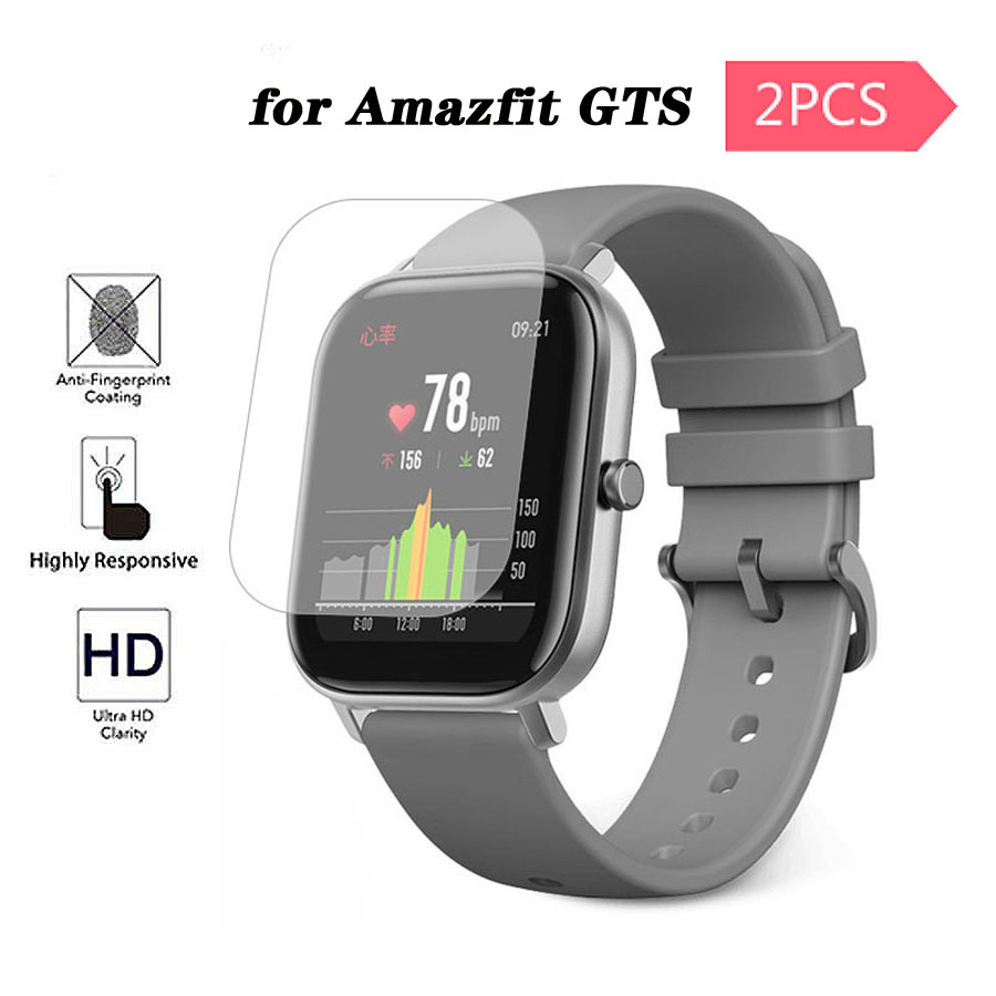 Screen Protector for Amazfit GTS Soft TPU HD Clear Protective Film Guard for Xiaomi Huami Amazfit GTS Watch Accessories