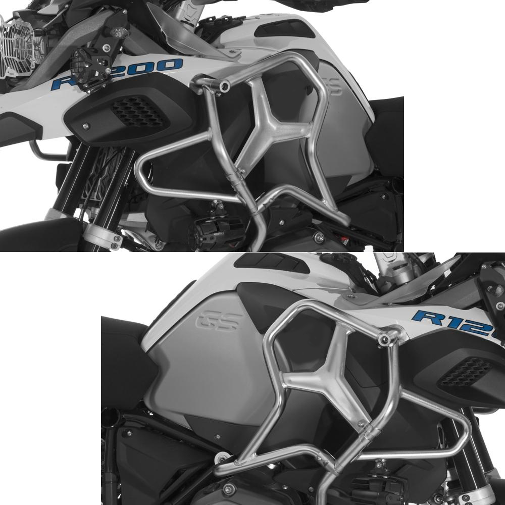 Image 2 - 2019 R1200GS LC ADV Upper Crash Bar Extensions For BMW R1200GS ADV Adventure water cooled 2014 2015 2016 2017 2018 Engine GuardCovers & Ornamental Mouldings   -