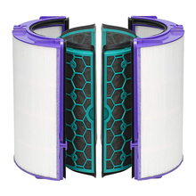 Carbon Filter for Dyson TP04/HP04/DP04/TP05/HP05 Pure Cool Hepa Purifier Sealed Two Stage 360 Degree Filter System
