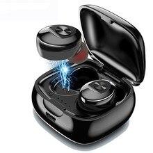 XG12 TWS Bluetooth 5.0 Auricolare Stereo Senza Fili Earbus HIFI Suono Sport Auricolari Vivavoce Gaming Headset con Il Mic per il Telefono