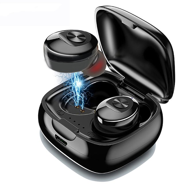 XG12 TWS Bluetooth 5.0 kulaklık Stereo kablosuz kulakiçi HIFI ses spor kulaklık Handsfree oyun mikrofonlu kulaklık telefon için