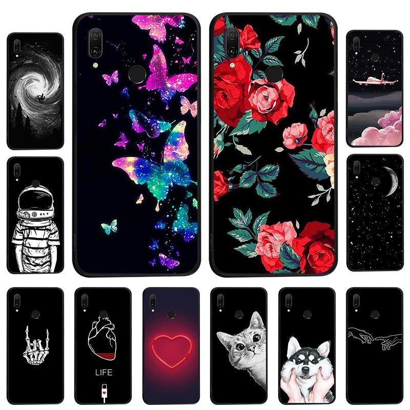 Caso de telefone Para o iphone 11 Pro Max 7 7Plus 8 8Plus 5 6 5S SE 6S X XR XS Max 2019 Gato Bonito Capa de Silicone TPU Macio Casos Fundas