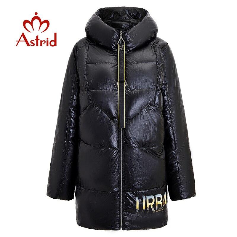 Астрид 2019 Зима Новое поступление пуховая куртка для женщин Свободные Костюмы Верхняя одежда для детей, качественная одежда, толстая хлопковая куртка средней длины зимняя куртка FR 7078|Парки|   | АлиЭкспресс