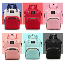 Mummy bag high-capacity mother and baby bag upgraded waterproof fashion backpack backpack multifunctional bag
