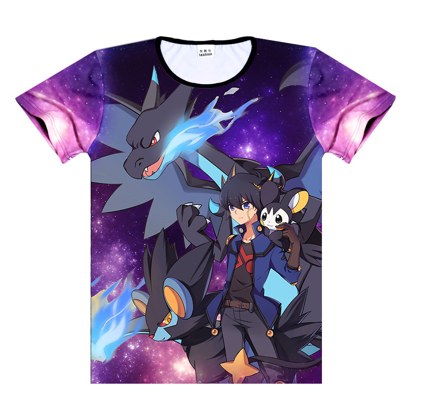 Elfe pour animaux de compagnie à manches courtes T-shirt vêtements Anime A163 3D