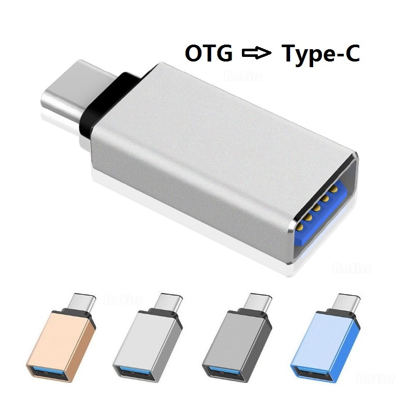 Type C Adapter Type-C To USB 3.0 OTG Cable Adapter USB C Converter For One Plus 6 5 Xiaomi Mi 8 Huawei USB C OTG Adapter