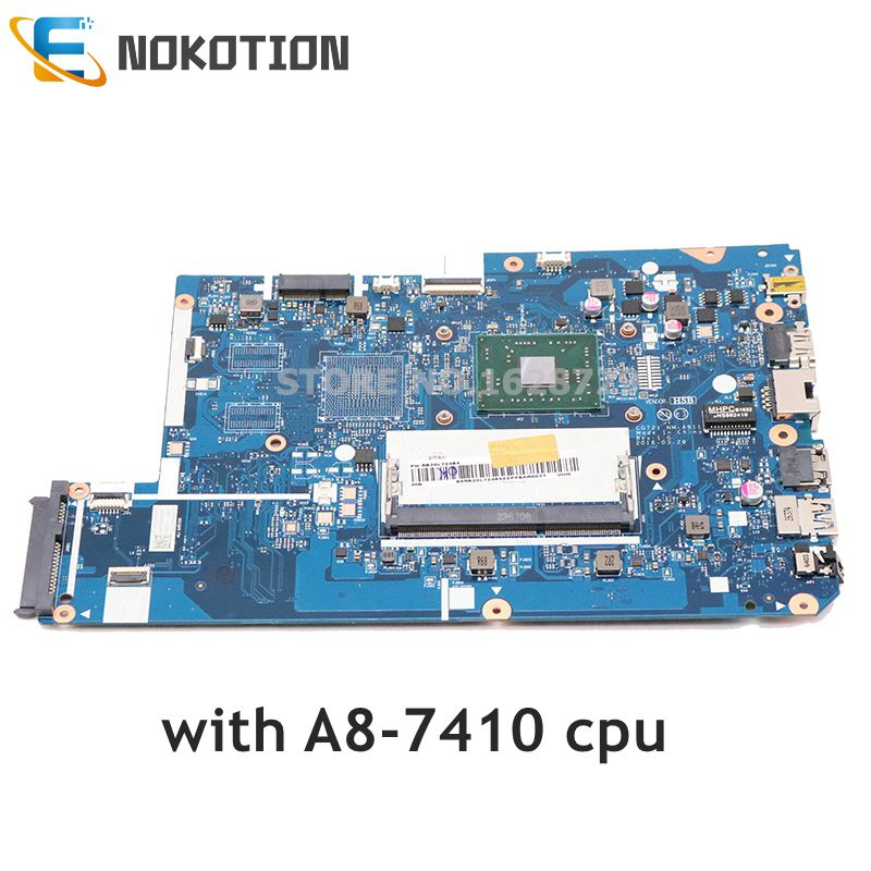 NOKOTION For <font><b>Lenovo</b></font> <font><b>110</b></font>-17ACL Laptop <font><b>Motherboard</b></font> A8-6410 CPU DDR3 5B20L72484 CG721 NM-A911 MAIN BOARD full test image