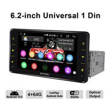 "JOYING 6.2""Single 1 Din Android Auto Car Radio Stereo Universal Head Unit GPS Multimedia Player DVR Accessories Rear View Camera"