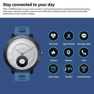 Image 4 - Zeblaze Hybrid Smartwatch di Frequenza Cardiaca Monitor di Pressione Sanguigna Orologio Intelligente Esercizio di Inseguimento Sonno Inseguimento Intelligente Le Notifiche
