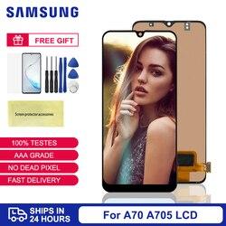 Для Samsung A70 дисплей TFT для Samsung Galaxy A70 ЖК-дисплей сенсорный экран дигитайзер сборка для Samsung A70 A705 SM-A705F