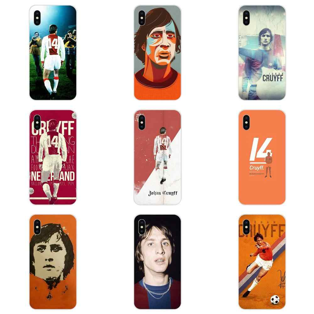 The Dutch Star Johan Cruyff Hot Selling Fashion For LG K50 Q6 Q7 Q8 Q60 X Power 2 3 Nexus 5 5X V10 V20 V30 V40 Q Stylus