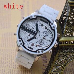 Image 4 - Часы наручные мужские кварцевые с автоматической датой и разными часовыми поясами