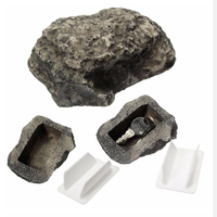 Outdoor Muddy Mud Spare Key House Safe Security Rock Stone Case Box Fake Rock Holder Garden Ornament 6x8x3cm
