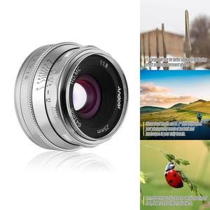 Image 3 - Andoer 25 مللي متر F1.8 عدسات تركيز يدوية بفتحة كبيرة للتصوير الفوتوغرافي لكاميرا فوجي فيلم FX Mount Mirrorless Canon EOS Olympus