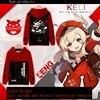 2021 new game Genshin Impact KLEE men's creative anime clothing cosplay jacket digital printing hooded sweater 1
