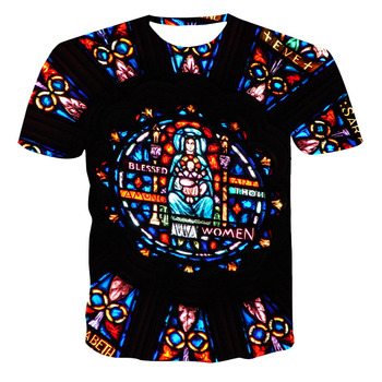 T Shirt for Man 3d Summer Fashion T-shirt Men's T-shirt Print T-shirt Punk Heren T-shirt Oversize Anime Clothes Harajuku Tie Dye