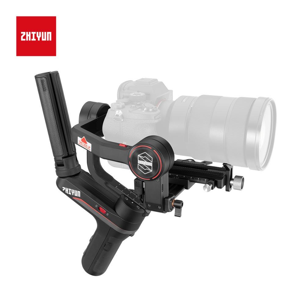 Image 3 - Zhiyun Weebill S stabilisateur de cardan Portable à 3 axes affichage OLED pour Canon EOS R A7III A7M3 Z6 Z7 S1 appareils photo sans miroirCardan à tenir à la main   -