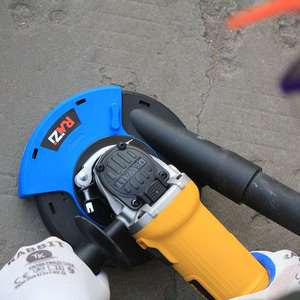 Image 3 - Raizi 5 インチ/125 ミリメートルアングルグラインダーダストシュラウドカバーツール乾燥表面研削ユニバーサルグラインダー集塵カバーキット