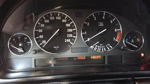 Image 2 - Chrome Speedometer Dial แหวนแผงแหวนสำหรับ BMW E39 M5 M 5 Series E38 E53 X 5