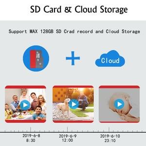 Image 5 - Wireless IP Camera CCTV Camera Security System Kit 4pcs 1080P SD Card Cloud storage Two Way Audio Home Video Surveillance Kit