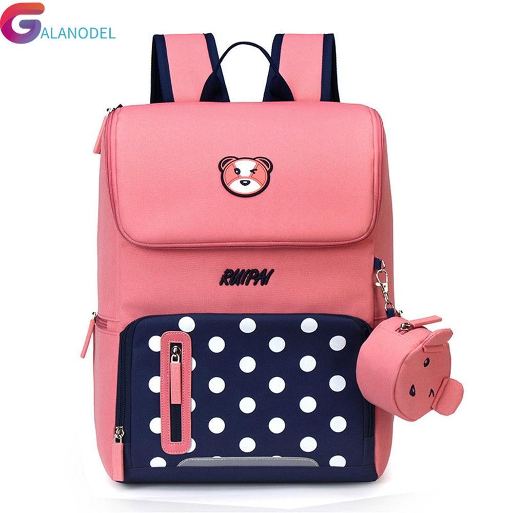 Backpack School Bags For Girls Boys Kids Cartoon Children Satchel Waterproof Orthopedic Backpack SchoolBag Book Bag Mochila