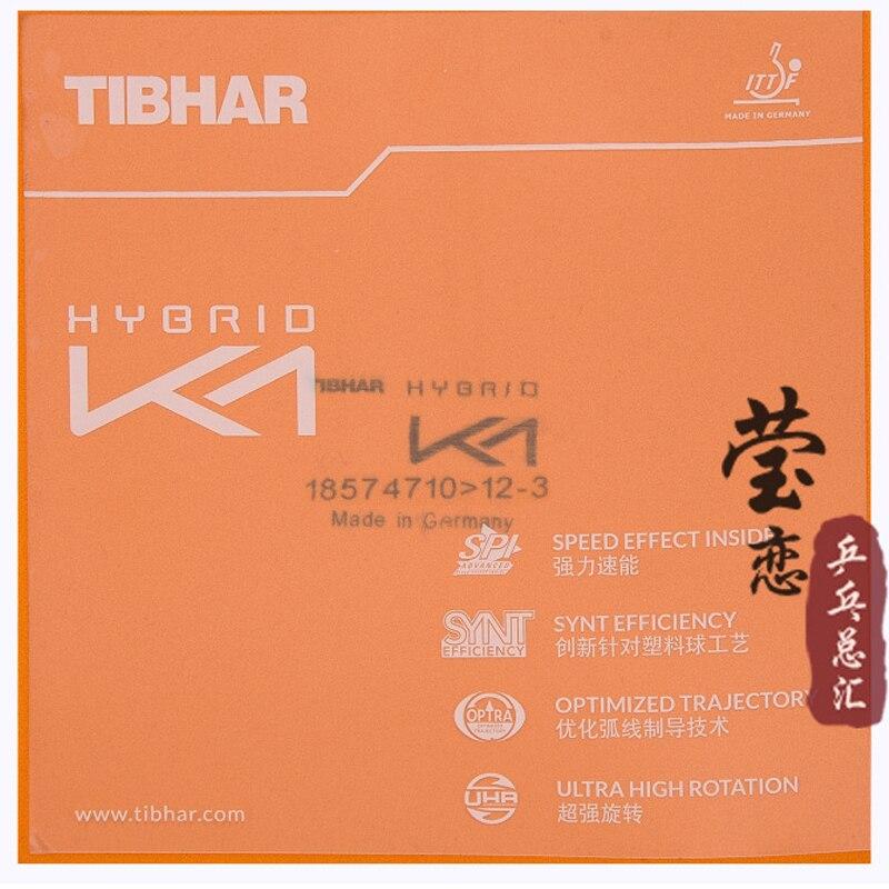 Tibhar hybride K1 plus caoutchouc de tennis de table collant haute vitesse et attaque rapide avec boucle - 5