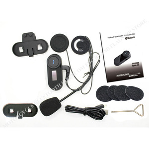 Image 5 - Neue Aktualisierte Version! FreedConn T COMSC Bluetooth Motorrad Helm Intercom Sprech Headset LCD Screen + FM Radio