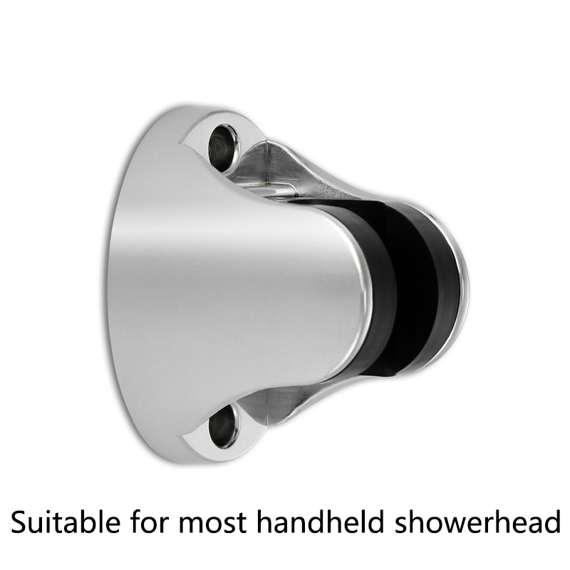 EHEH Stainless Steel 1.5 Meter Handheld Shower Hose + Holder Chromeplate ABS Plastic Adjust Angle Shower Kits