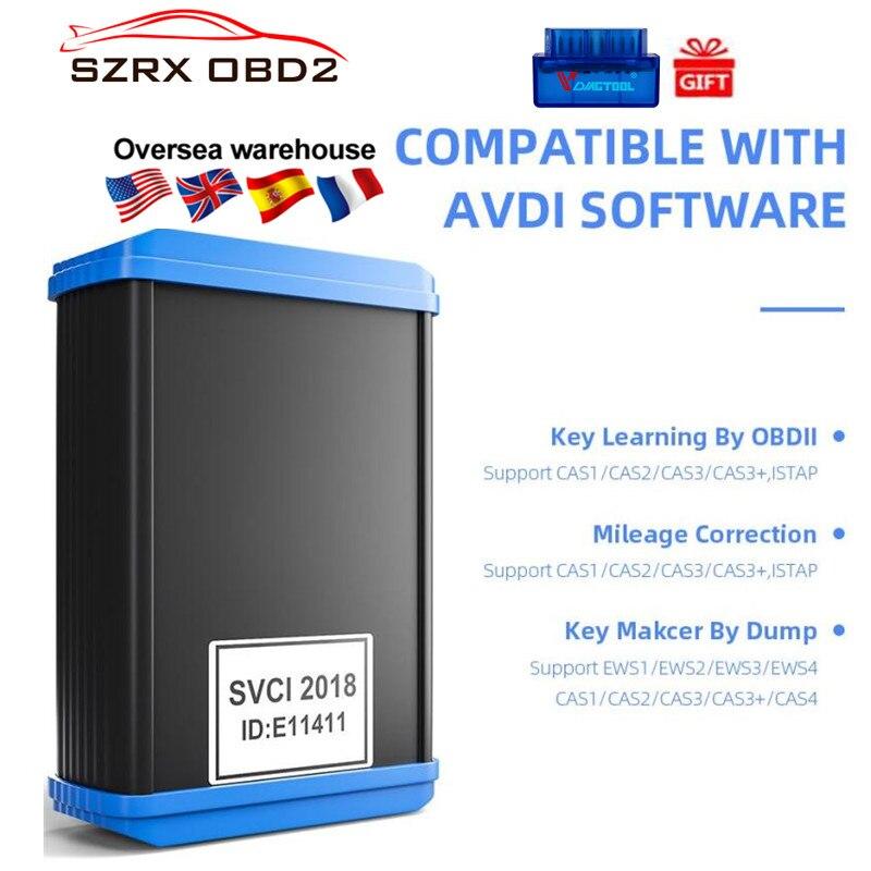 FVDI V2018 ABRITES Commander VVDI Function FVDI 2014 Scanner Odometer Correction Key Programmer Unlimited SVCI V2015
